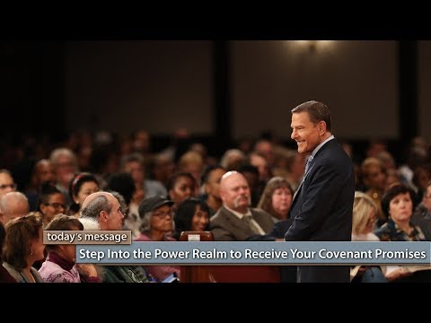 Step Into the Power Realm to Receive Your Covenant Promises