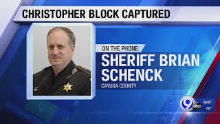 Cayuga County Sheriff expresses frustration in how the hunt for Block was handled