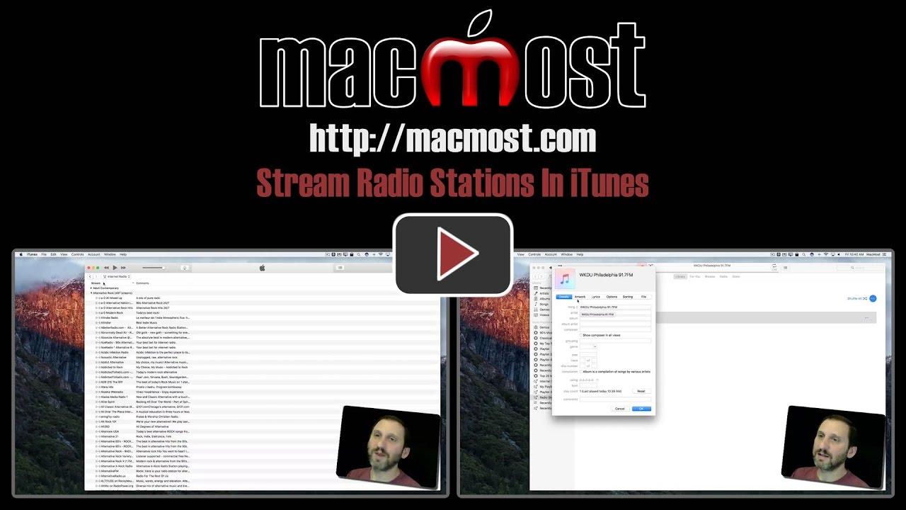 itunes stream on website