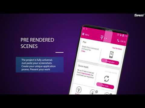 I will make a unique mobile app promo video - App & Website Previews Services