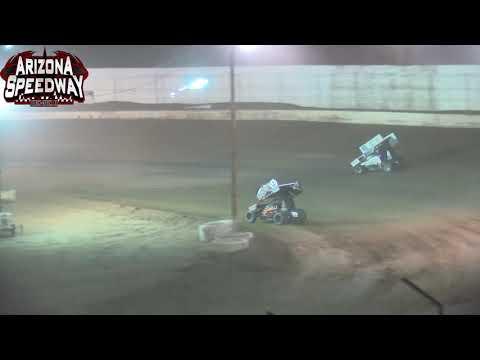 Az Speedway ASCS Southwest Sprint Car 9 11 21 - dirt track racing video image