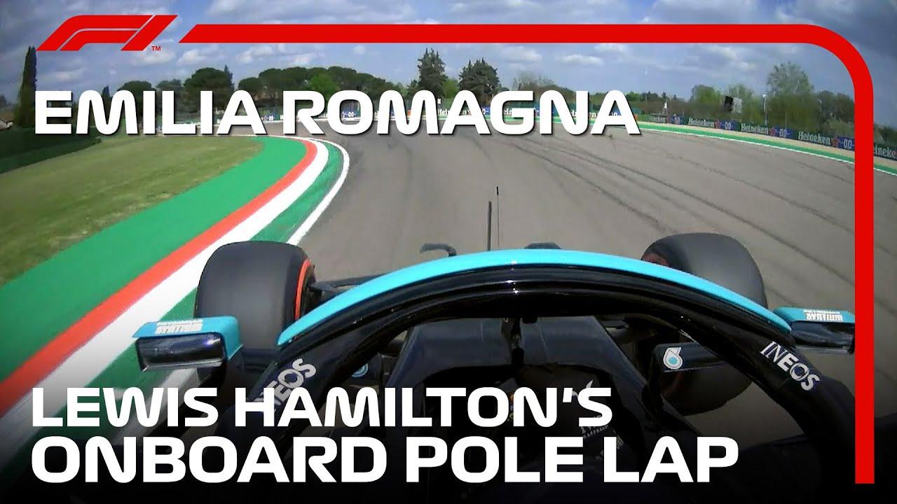 Lewis Hamilton's Onboard Pole Lap   2021 Emilia Romagna Grand Prix   Pirelli