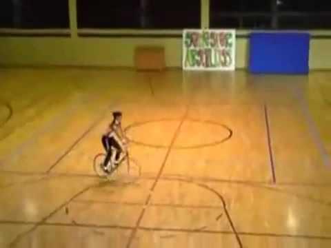 Woman With Bike Cycle