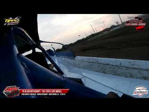 76 Blair Nothdurft | Rapid Speedway | 7-20-21 - dirt track racing video image