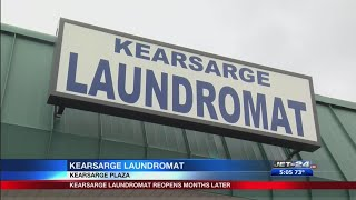 Kearsarge Laundromat back open for business after months of being closed down