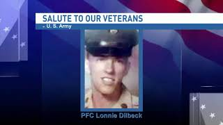 NBC 15 WPMI- Salute to our veterans: Private First Class Lonnie Dilbeck