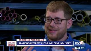 Sparking interest in the welding industry