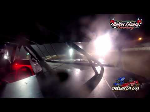 #98 James Gates - B Mod - 7-9-2021 Dallas County Speedway - In Car Camera - dirt track racing video image