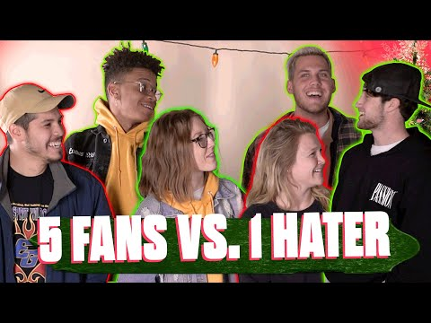 5 FANS vs. 1 HATER  Christmas Edition  Elevation YTH