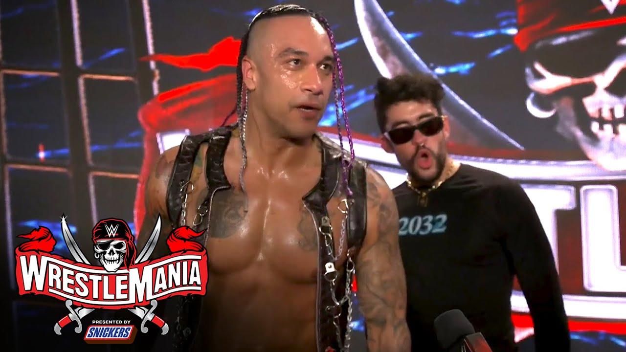 "Bad Bunny calls WrestleMania ""a dream come true"": WrestleMania 37 Exclusive, April 10, 2021"