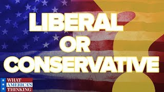 Where do Americans land on their political ideology?