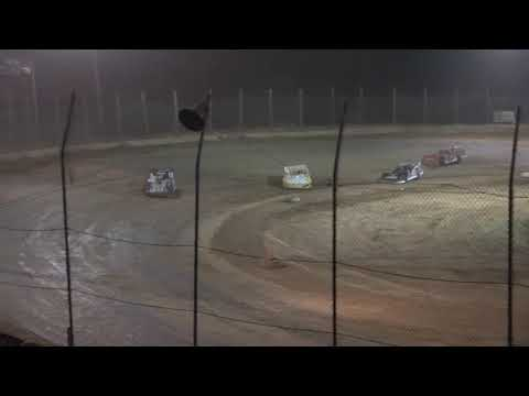 Super Late Model A-Main from Moler Raceway Park, July 9th, 2021. - dirt track racing video image