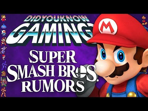 A Complete History of Super Smash Bros Rumors - Did You Know Gaming? Ft. Remix - UCyS4xQE6DK4_p3qXQwJQAyA