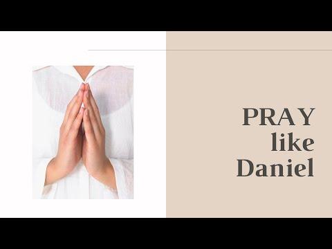 PRAY like Daniel!