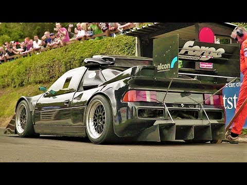 920Hp Ford RS200 Pikes Peak Version // Retro Rides 2017 Dramatic Run - UCCWPy8e7TkqGZH4zt4TiTNw