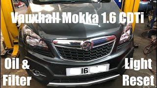 Cambio olio motore OPEL MOKKA 1.6 CDTI
