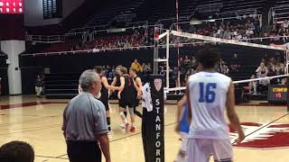 Men's volleyball, Stanford vs UCLA, 2019
