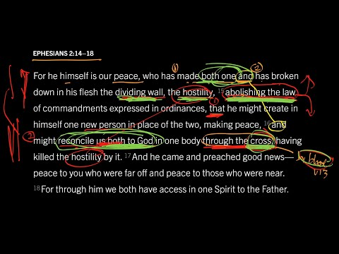 Ephesians 2:1418 // Part 3 // How Does an Abolished Law Create Unity?