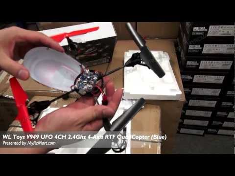 WL Toys V949 UFO 4CH 2.4Ghz 4-Axis RTF QuadCopter Test Flight Review - MyRcMart.com - UC0OXRhAJfkATyxC_XSzbXTQ