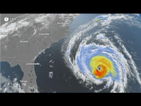 Bão Florence: 10 triệu người vùng Đông Nam nước Mỹ có thể gặp nguy hiểm