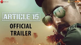 Video Trailer Article 15