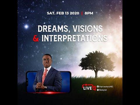 Dreams, Visions and Interpretations  Pst Bolaji Idowu
