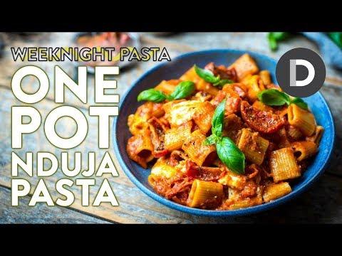 ONE POT Spicy Pasta! | WEEKNIGHT PASTA - default