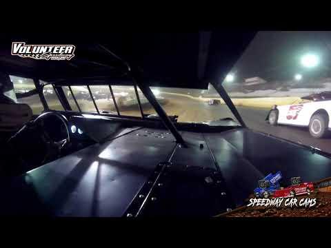 #24 Mayson Bare - Sportsman - 8-1-21 Volunteer Speedway - In-Car Camera - dirt track racing video image