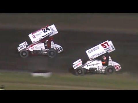 "Highlights: ASCoC ""OH Speedweek"" @ Waynesfield Raceway Park 6.11.2021 - dirt track racing video image"