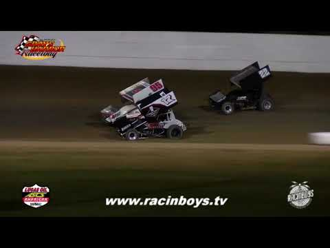Lucas Oil ASCS Night 1 Fred Brownfield Classic 2021 - dirt track racing video image