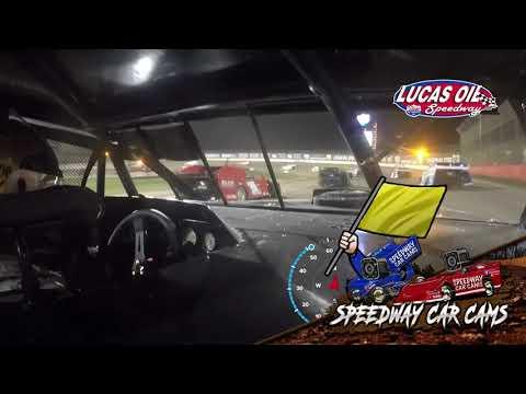 #91 Joe Duvall - Usra Modified - 10-9-2021 Lucas Oil Speedway - In Car Camera - dirt track racing video image