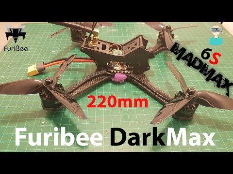 FuriBee DarkMax 220mm - Full Review (Overview, Setup & Test Flight) - UCOs-AacDIQvk6oxTfv2LtGA