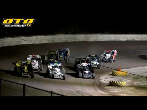 Ransomville Speedway | PA 358-Modified Outlaw Feature Highlights | 9/10/21 - dirt track racing video image