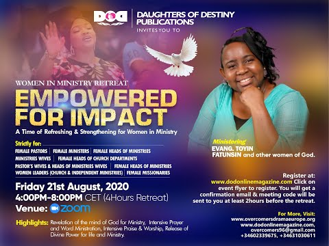 EMPOWERED FOR IMPACT-WIM AUGUST RETREAT
