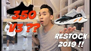 NEW YEEZY V3 COMING SOON !!! MORE YEEZY NEWS | WAVE RUNNER RESTOCKING AGAIN 2019
