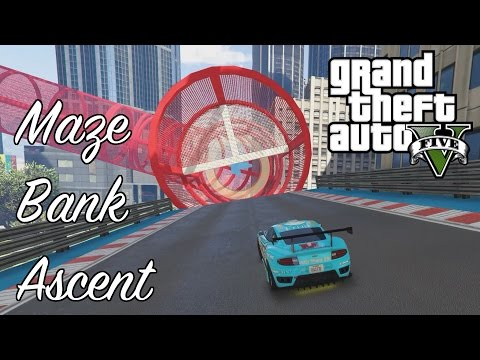 GTA 5 Stunt Races - Maze Bank Ascent - UCgmjHLhjT89mej198RQqbzA