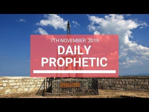 Daily Prophetic 7 November Word 6