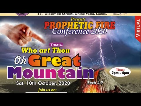 FRENCH  PROPHETIC FIRE CONFERENCE 2020 10TH OCTOBER 2020