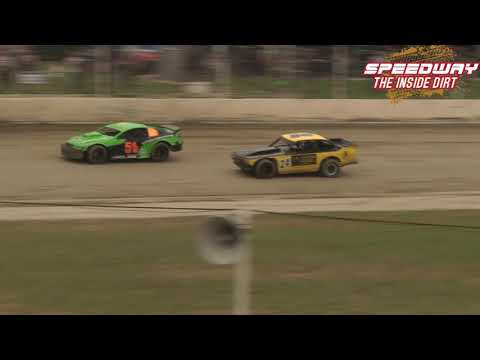 Saloons Race 1 Central Motor Speedway 30th December 2020 - dirt track racing video image