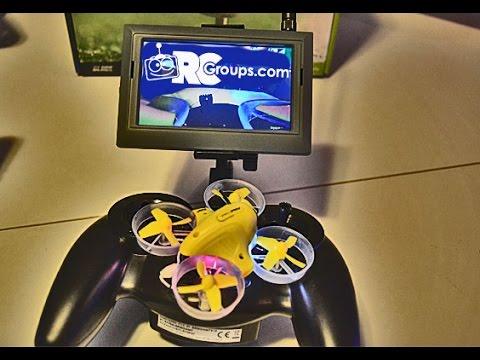 Inductrix FPV  - Test Flight, Goggles, Battery Charger - Review - UCJzsUtdVmUWXTErp9Z3kVsw