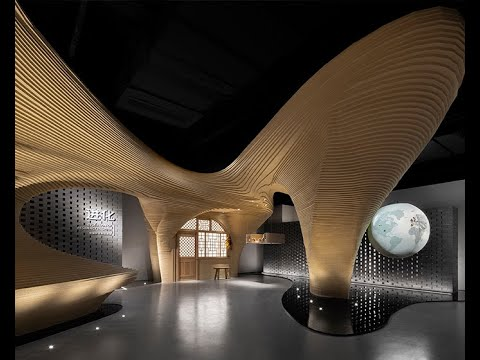 Cave Dwelling Shall Predict the Future — Experience Hall for Passive House