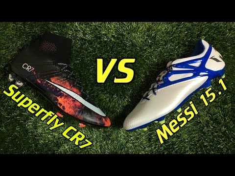 CR7 Nike Mercurial Superfly 4 vs Adidas Messi 15.1 - Comparison + Review - UCUU3lMXc6iDrQw4eZen8COQ