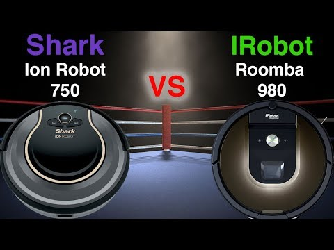 Shark Ion Robot 750 VS Irobot ROOMBA 980 - DETAILED Comparison - UCvavJlMjlTd4wLwi9yKCtew