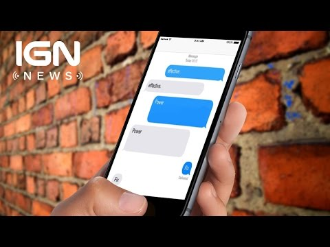 A Text Message Could Crash Your iPhone - IGN News - UCKy1dAqELo0zrOtPkf0eTMw