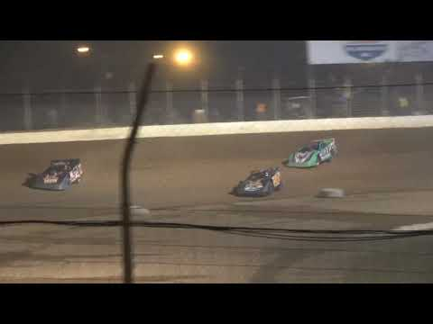 Limited Late Model A-Main from Portsmouth Raceway Park, August 7th, 2021. - dirt track racing video image