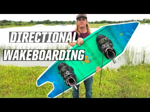 RIDING A DIRECTIONAL WAKEBOARD - WAKEBOARDING - UCJluNGyCBWNF2Fqb24oM0IQ
