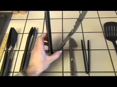 OXO Good Grips 12-Inch Stainless-Steel Tongs Review - UCgqIEM4htG2VwwSL24Y3l2g