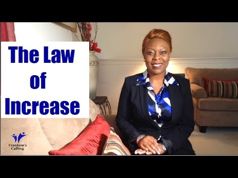 The Law of Increase