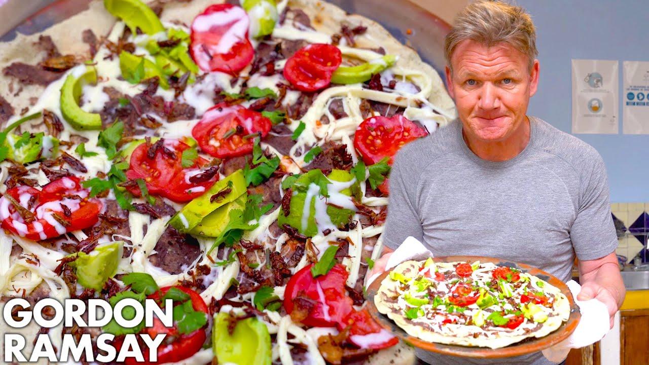 Gordon Ramsay Makes a Mexican Street Food Favorite