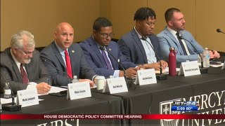 House Democratic Policy Committee Hearing held at Mercyhurst University